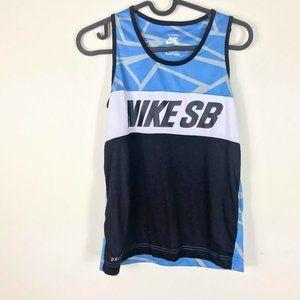 Nike SB Tank Top Blue, Black, White M